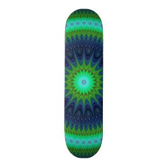 Winter-Mandala Skateboarddeck