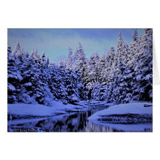 Winter-Märchenland Karte