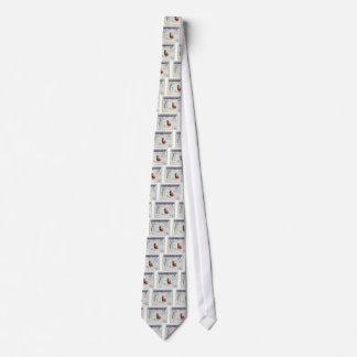 Winter-Märchenland-Krawatte Krawatte