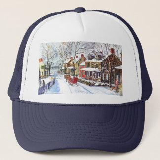 Winter-Märchenland Truckerkappe