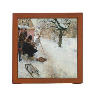 Winter-Motiv Åsögatan Stifthalter