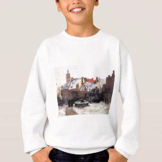 Winter-Nachmittag altes München durch T.C. Steele Sweatshirt