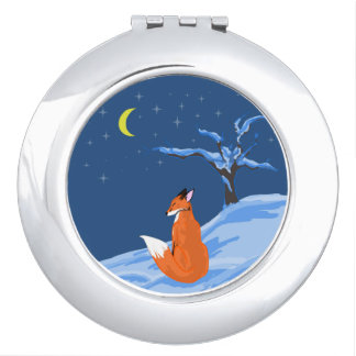 Winter-NachtFox Schminkspiegel
