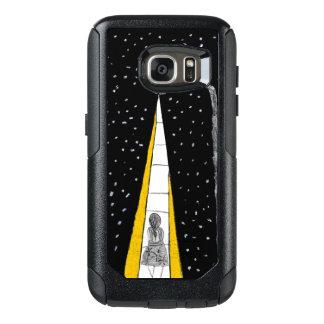 Winter-Nachtweg OtterBox Samsung Galaxy S7 Hülle