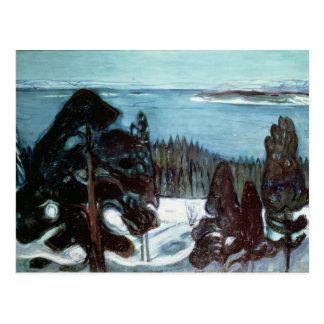 Winter Night, 1900 Postkarte