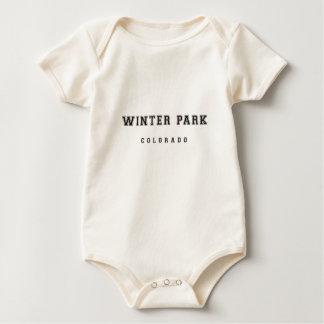 Winter-Park Colorado Baby Strampler