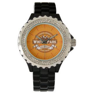 Winter-Park-Mandarine-Uhr Uhr