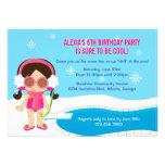 Winter-Pool-Party laden ein Individuelle Einladungen