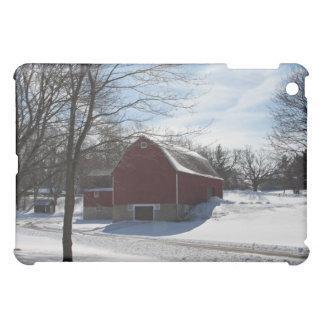 Winter-Scheune iPad Minifall iPad Mini Cover