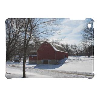 Winter-Scheune iPad Minifall iPad Mini Hüllen