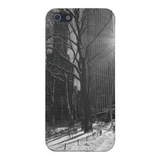 Winter-Schnee im Central Park iPhone 5 Case