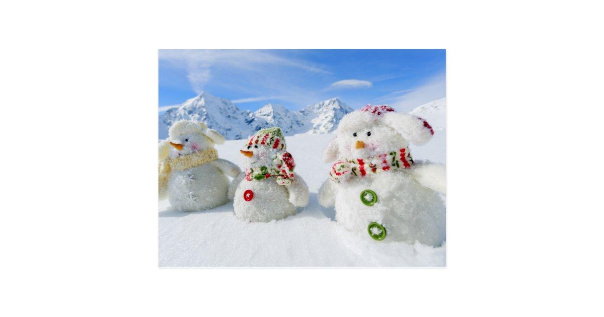 winter schnee sun und spa weihnachten postkarte zazzle. Black Bedroom Furniture Sets. Home Design Ideas