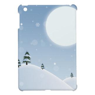 Winter-Schnee-Szene iPad Mini Hülle