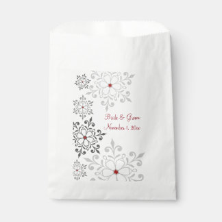 Winter-Schneeflocke-Feiertags-Hochzeit Geschenktütchen