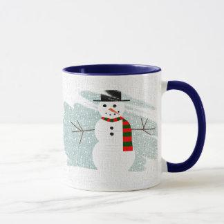 Winter-Schneemann Tasse