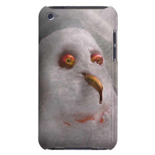 Winter - Schneemann - was Sie betrachtend sind Barely There iPod Etuis
