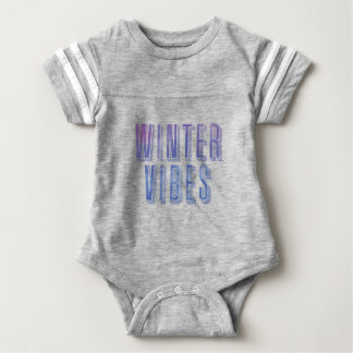 Winter-Schwingungen Baby Strampler
