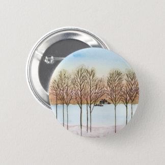 Winter See Runder Button 5,7 Cm