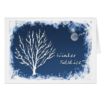 Winter-Sonnenwende Karte