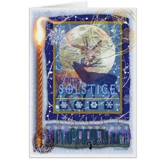 Winter-Sonnenwende Grußkarten