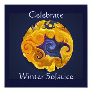 Winter-Sonnenwende-Party Einladung