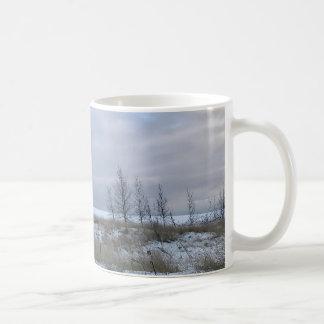 Winter-Strand-LandschaftsTasse Kaffeetasse