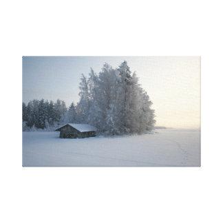 Winter-Tag Galerie Faltleinwand