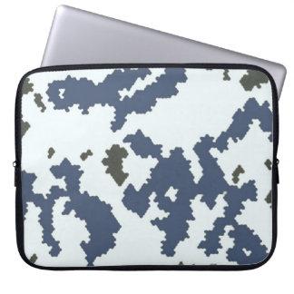 Winter-Tarnung Laptopschutzhülle