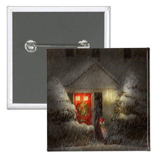 Winter - T'was die Nacht vor Weihnachten Anstecknadelbuttons