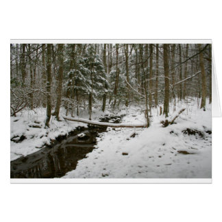 Winter-Wald Karte