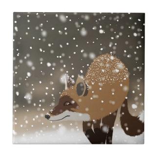 Winter-Waldkunst des hinterlistigen intelligenten Keramikfliese