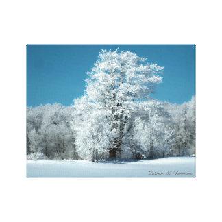Winter-Wind Galerie Faltleinwand