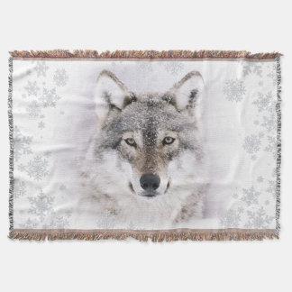 Winter-Wolf-Wurfs-Decke Decke