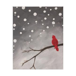 Winter-Wunder-Druck Leinwanddruck