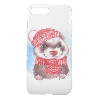 Winterfrettchen iPhone 8 Plus/7 Plus Hülle