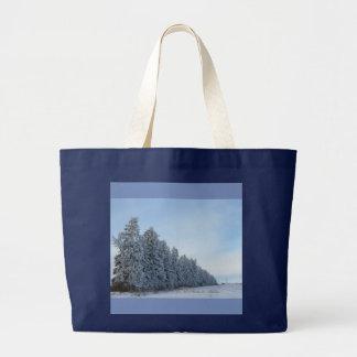 Winterimmergrün-Tasche Jumbo Stoffbeutel