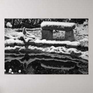 Winterimpression Poster