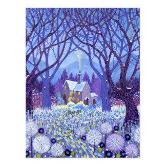 Winterlands 2012 postkarte