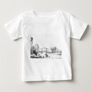 Winterscene bei Spuipoort durch Jakob van Strij Baby T-shirt