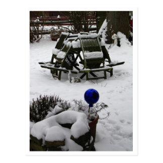 Winterschlaf Postkarte