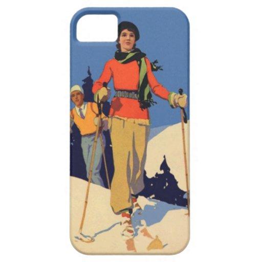 Wintersport - auf dem Piste Schutzhülle Fürs iPhone 5
