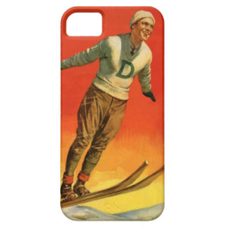 Wintersport - Skispringer Schutzhülle Fürs iPhone 5