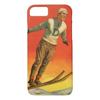 Wintersport - Skispringer iPhone 8/7 Hülle