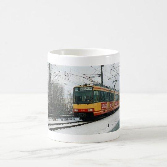 "Wintertasse ""Stadtbahn"" Kaffeetasse"