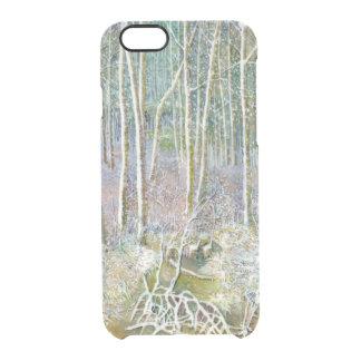 Winterwald Durchsichtige iPhone 6/6S Hülle