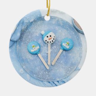 Winterzeit-Leckereien und gute Sachen Keramik Ornament
