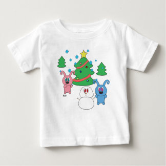 Winterzeit Rollys (Weihnachten) Kleinkind-T - Baby T-shirt