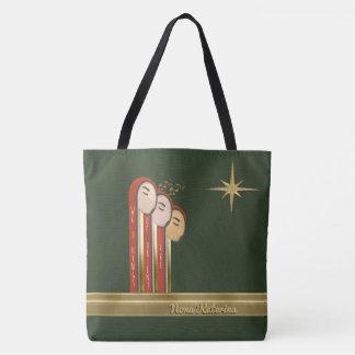 Wir 3 Könige - Kunst-Deko-Weihnachten Tasche