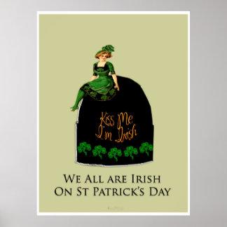 Wir alle Iren dieser Tag Poster