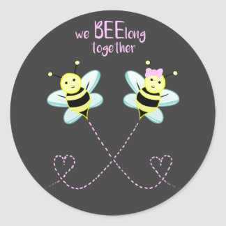 Wir BEElong zusammen - Aufkleber